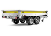 Boggiehenger/ tilhenger, totalvekt 1300 kg